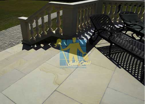 Sandstone Tile Stairs Cleaning Gold Coast
