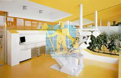 dental clinic yellow vinyl floor Gold Coast