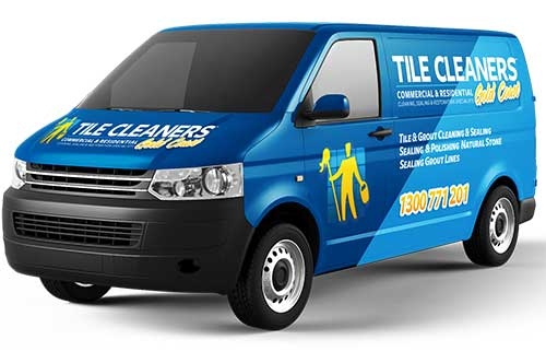 Gold Coast Tile Cleaners Van