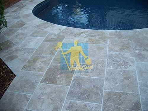 Tile Sample Sealer, Polished Travertine Stone Gold Coast