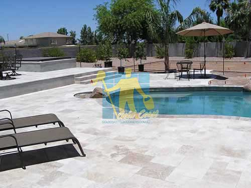Polished Travertine Stone Tile Gold Coast