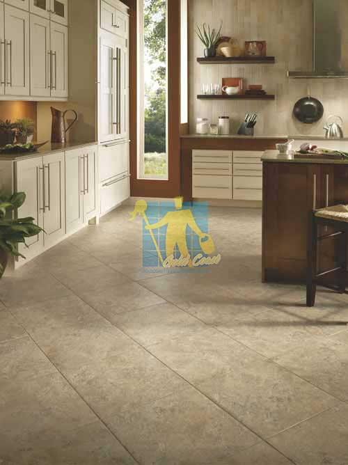 luxury_light_vinyl_tile_floor_contemporary_kitchen Gold Coast